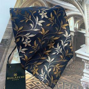 bugatchi uomo Vines men's Necktie. NWT